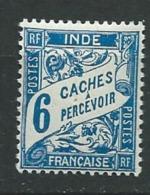Inde Française -  Taxe  -   Yvert N°  13 *     AH 24626 - India (1892-1954)