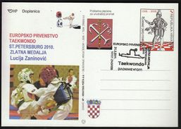 Croatia Zagreb 2011 / European Taekwondo Championship ST. PETERSBURG 2010 / Gold Medal Winner Lucija Zaninovic - Kampfsport