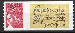 France 2004 Timbre Adhésif Neuf** Avec Vignette N° 3729A Cote 10 Euros - France