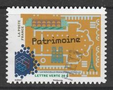 France, Heritage, 2014, VFU Self-adhesive - Frankrijk