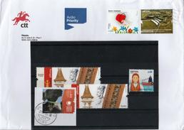 Portugal - Nice Cover And A Few Of Stamps - Sammlungen (ohne Album)