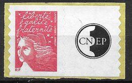 France 2004 Timbre Adhésif Neuf** Avec Vignette N° 3729A Cote 10 Euros - Personalisiert