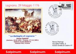 ANNULLO ANNIVERSARIO 841° BATTAGLIA DI LEGNANO - 6. 1946-.. Repubblica