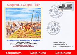 ANNULLO ANNIVERSARIO 158° BATTAGLIA DI MAGENTA - 1946-.. République