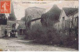 CHARENTE-MARITIME - SAINT-MARTIAL De COCULET - L'Eglise ( Animation ) - Autres Communes