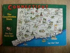 Connecticut - Manchester, Derby, Hamden, Hadlyme, Norwich, Hartford, Bristol, Danbury, Litchfield, Willimantic - Etats-Unis