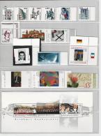 MG59) GERMANY 2003 -ANNATA COMPLETA -tutta Bordo Di Foglio Deutsche Post  NO ADESIVI - Nuovi