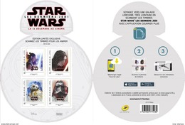 France 2017 Star Wars Space Minisheet MNH - Space