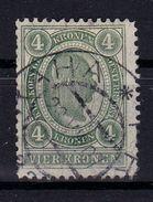 AUSTRIA / ÖSTERREICH - 1899 - 4 Kr (Mi. 83) : OBLITÉRATION / CANCELLATION : PRAG / PRAHA - 26 / VII / (19)07 (ab209) - Oblitérés