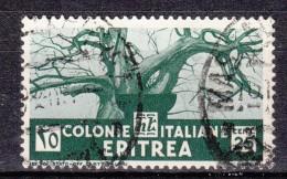 1933 Eritrea C.25  - Usato - Eritrea