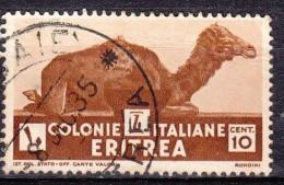 1933 Eritrea C.10  - Usato - Eritrea