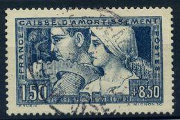 France N° 252b  Obl. Càd Central - TTB Centré - Cote 216 Euros - LUXE - Usados