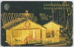 CAYMAN ISLANDS - SEASONS GREETINGS - 7CCIA - Cayman Islands