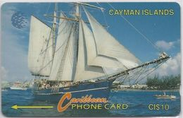 CAYMAN ISLANDS - SAILING SHIP - 8CCIB - Cayman Islands