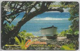 CAYMAN ISLANDS - BOAT AND TREE - 6CCIB - Cayman Islands