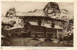 CPA - Environs D'EAUX-BONNES (64) - Aspect Du Chalet Refuge De GOURRETTE Dans Les Années 30 - Eaux Bonnes