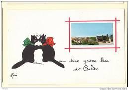 18 CULAN Chat 3 Une Grosse Bise  Illustrateur René - Culan