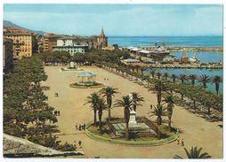 BASTIA (Corse) - Place Du Général De Gaulle Et Le Nouveau Port -Kiosque Musique -Animée -Circulée 1969 -Scan Recto-verso - Bastia