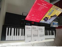 Instruments De Musique > CASIO CTK 530 Electronic  Keyboard ( Comme Neuf Peu Servie ) - Instruments De Musique
