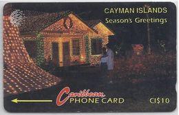 CAYMAN ISLANDS - SEASON'S GREETINGS - 10CCIA - Cayman Islands