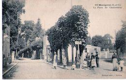 D94 -  Montgeron ( S.&O; ) La Place De Chalandray ( Mulard édit. Yerres ) - Montgeron