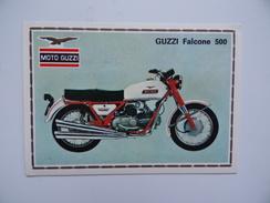 MOTO GUZZI Falcone 500 Figurine PANINI Super Moto N° 67 Publicité - Otros