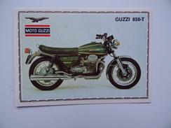 MOTO GUZZI 850-T Figurine PANINI Super Moto N° 68 Publicité - Otros