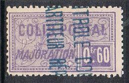 ALGERIE COLIS POSTAL N°13 N**  Variété Surcharge Renversée Bleue - Algérie (1924-1962)