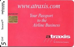 Swisscom: 08/99 Atraxis - An SAirServices Company - Schweiz