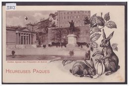 GENEVE - AGENCE DES PRISONNIERS DE GUERRE - HEUREUSES PAQUES - TB - GE Genève