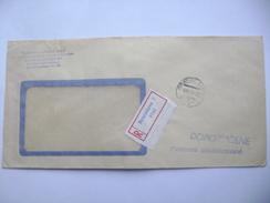 Czechoslovakia R-letter 1969 BRATISLAVA (Slovakia) - Postage Prepaid - Czechoslovakia