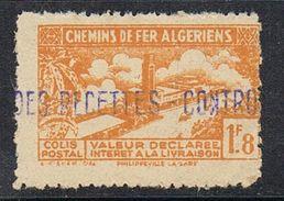 ALGERIE COLIS POSTAL N°112 N** - Algérie (1924-1962)