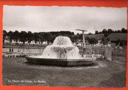 GAL-28 La Chaux-de-Fonds La Piscine, Fontaine D'eau. Jeanneret 877.  Non Circulé. - NE Neuchâtel