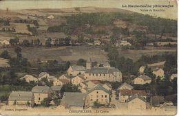 CPA 70 - CORRAVILLERS - Le CENTRE - Carte Toilée - Andere Gemeenten