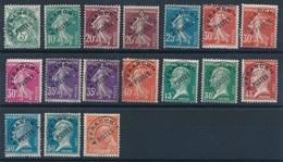 BM-382: FRANCE:   Lot  Avec Préo Obl N°entre 41 Et 83 - 1893-1947