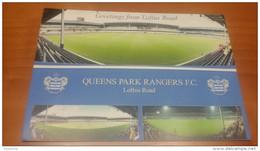 London Loftus Road QPR Stadium Cartolina Stadio Postcard Stadion AK Carte Postale Stade Estadio - Calcio