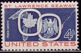 United States, 1959, St. Lawrence Seaway, 4c, Sc#1131, MNH - United States
