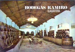 TARJETA POSTAL NO CIRCULADA ,  VINO , BEBIDAS, VIÑEDOS - BODEGAS RAMIRO , LLAGOSTERA - Viñedos