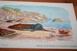 CPA Fable De La Fontaine Le Rat Et L'huitre Collection Kolarsine Et Pautauberge - Contes, Fables & Légendes