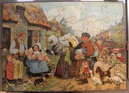 Collezionismo Giochi Per Bambini - Puzzle Legno 30 Pezzi Anni '30 - RARO - Altre Collezioni