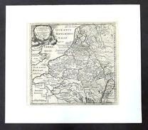 Carta Geografica - Germaniae Cisrhenanae Ut Inter I. Caesaris - Germania - 1729 - Altre Collezioni