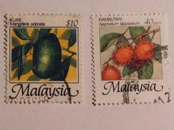 MALAISIE  1986  Lot # 11  FRUIT - Malaysia (1964-...)