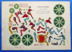 Gioco Vintage Costruzione N° 15 - Velocipede - De Castiglione - 1930 Ca. - Giocattoli Antichi