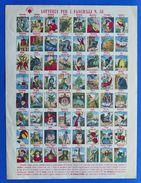 Gioco Vintage Marca Stella - Lotteria Per I Fanciulli N° 51 - Anni '30 Ca. - Giocattoli Antichi
