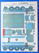 Gioco Vintage - Costruzione N° 7 Marca Stella - La Locomotiva - 1930 Ca. - Giocattoli Antichi