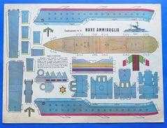 Gioco Vintage - Costruzione N° 5 Marca Stella - Nave Ammiraglia - 1930 Ca. - Giocattoli Antichi