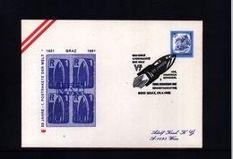 Austria 1981 Schmiedl 1.Postrakete Interesting Letter - Post