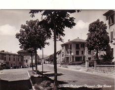 VARANO MELEGARI-PARMA-VIA ROMA-CARTOLINA VERA FOTOGRAFIA- VIAGGIATA IL 16-8-1958 - Parma