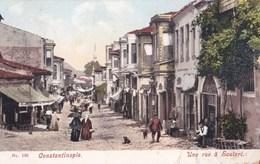 Carte Postale : Constantinople   (Turquie)    Une Rue à Soutari        Ed Latapi   N° 144 - Mexico