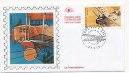 Enveloppe FDC - Poste Aérienne - BREGUET XIV - Paris - 16 Novembre 1997 - FDC